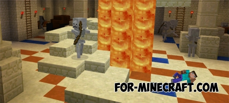 Desert Dungeon map for MCPE 0.14.x