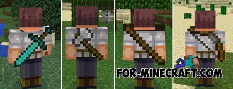 BackTools mod for Minecraft PE 0.14.0/0.14.2