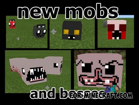 Binding of Isaac mod for Minecraft PE 0.14.X