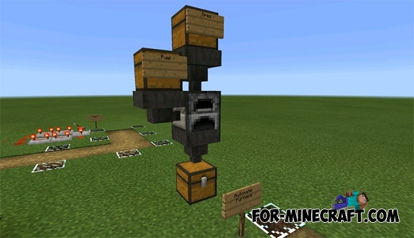 8 Automatic Farms map for Minecraft PE 0 15 0/0 15 1