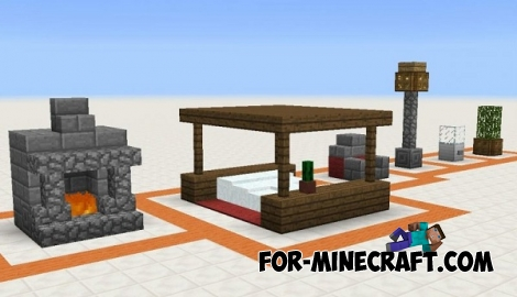 16 Little Constructions for Minecraft PE 0.14-0.15.0