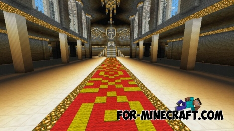 Misting Angel Town map for Minecraft PE 0.15.0/0.15.1