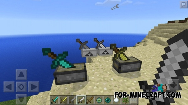 how to make a stone sword in minecraft pe