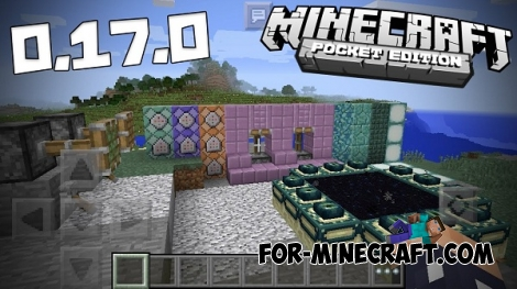 Minecraft PE 0.17.0 - Download Build 1