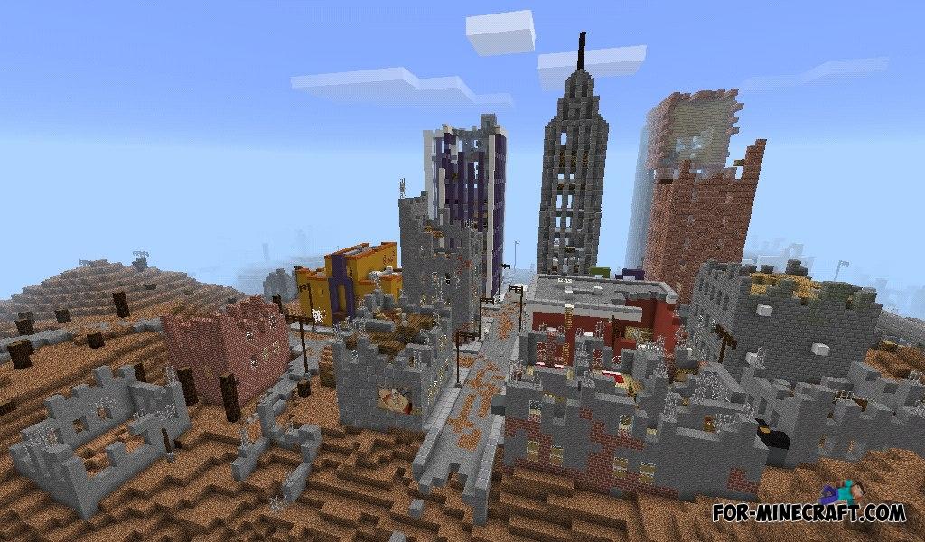 Майнкрафт пе карта 21.12.2012 конец света 2
