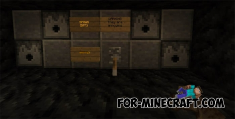The Batcave map for Minecraft Pocket Edition 0.15.4