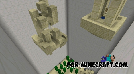 No damage map for Minecraft PE 0.15.4