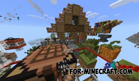Win10Coaster map for Minecraft PE 0.15/0.16.0