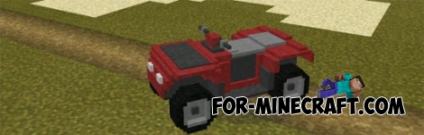 Mech Mod v1.4.0 for Minecraft Pocket Edition 0.13/0.14/0.15/0.16.2