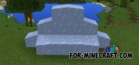Slope Blocks mod for Minecraft PE 0.15.6/0.15.7