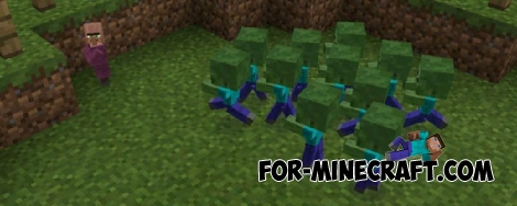 Baby Mobs mod for Minecraft PE 0.15.0-0.15.9