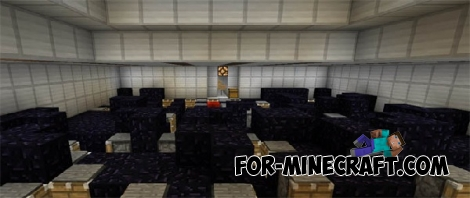 Mined Prison map for Minecraft PE 0.15/0.16.0