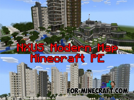 NXUS Modern map for Minecraft PE 0.15/1.2.14.3
