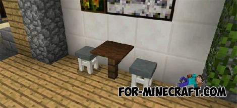 More Chairs mod v2 for MCPE 0.16.0/0.17.0