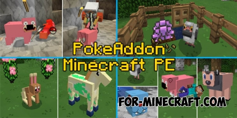 PokeAddon for Minecraft PE 0.16.0