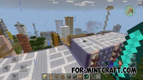 Greenville city map for MCPE 0.16.0