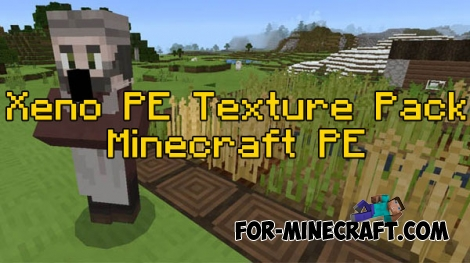 Xeno PE Texture pack for MCPE 0.16.0/0.17.0