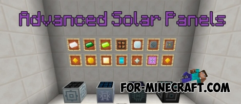 Advanced Solar Panels addon v0.02 for Minecraft PE (IC 2)
