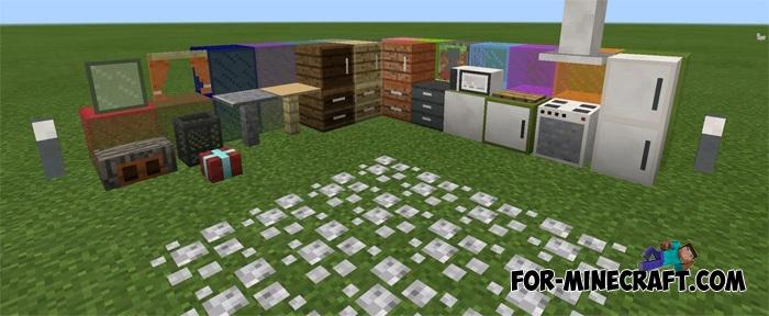 Pocket Decoration mod v10 for Minecraft PE 1 1