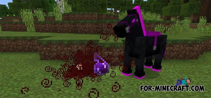 Ender Horse Mod For Minecraft Pe 0 17
