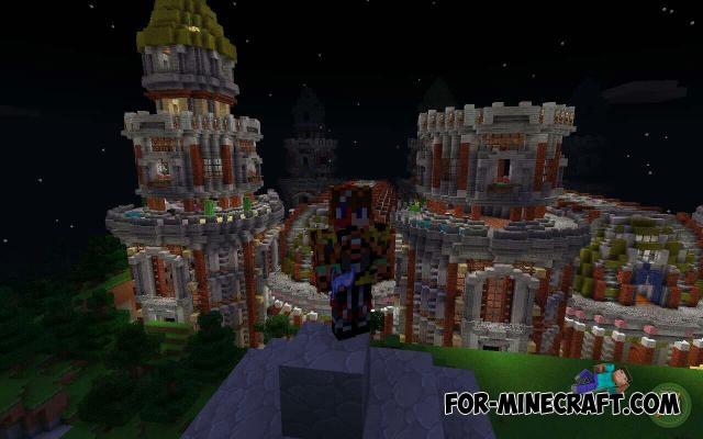 Fantasy World map for MCPE 0 17 0