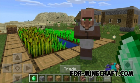 Trading Addon for Minecraft PE 0.16/0.16.1