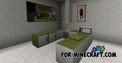 Pocket Decoration mod v10 for Minecraft PE 1.1