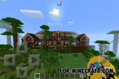 The Mansion for Minecraft PE 0.17.0