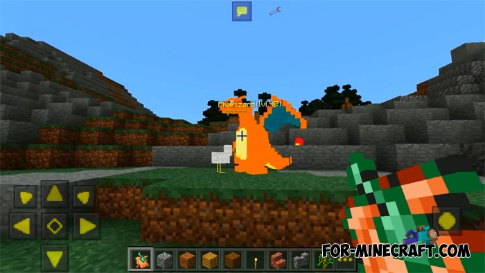 PokeCraft Mod for Minecraft PE 1 12 and 1 13 (Upd)