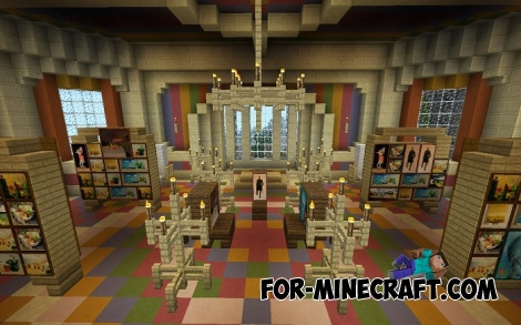 Addenot manor for Minecraft PE 0.17.0