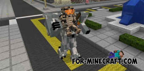 Mechanical Exoskeleton v4 for Minecraft PE 0.17.0/1.0.5