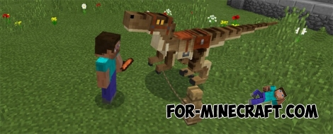 Dinosaur Pack for Minecraft PE 1.0.5 / 0.17.0