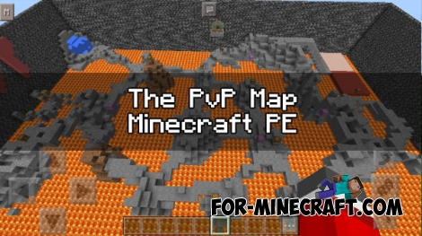 The PvP map for Minecraft PE 0.17.0 (1.0.0)