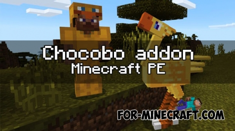 Chocobo addon for Minecraft PE 1.1