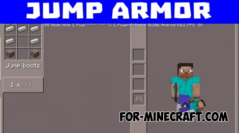 Special Armor mod for Minecraft PE 1.0/0.17.0