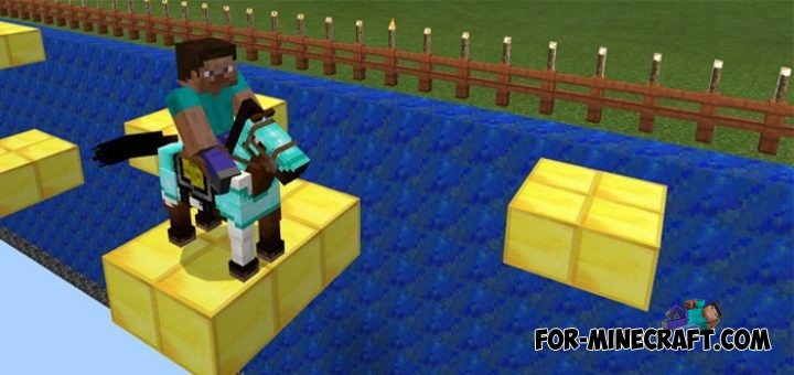 Horse Parkour map for Minecraft PE 1 0 0 / 0 17 0