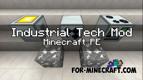 Industrial Tech v2 mod for Industrial Craft PE