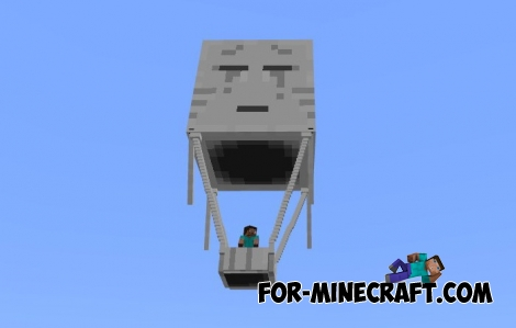 Ghast Balloon mod for Minecraft PE 1.0.0/0.17.0
