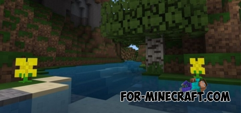 Feathercloud texture pack for Minecraft PE 1.0.2
