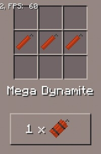 Dynamite Mod for Minecraft PE 1.0.0/1.0.3