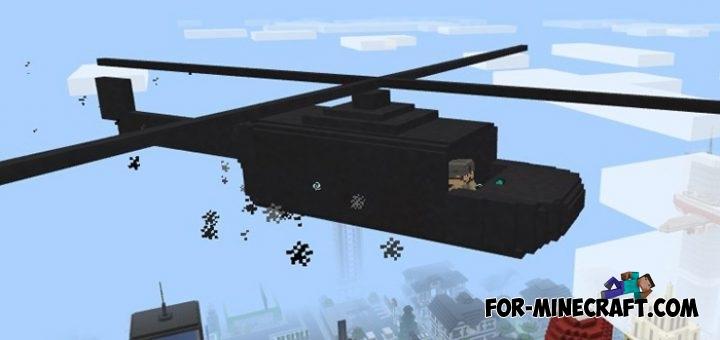 мод на вертолет на майнкрафт 1.0 #7