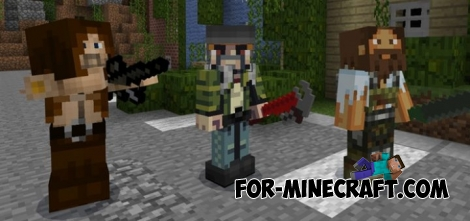 DayZ addon for Minecraft PE 1.2
