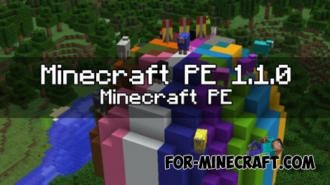 Minecraft PE 1.1.0 - New blocks