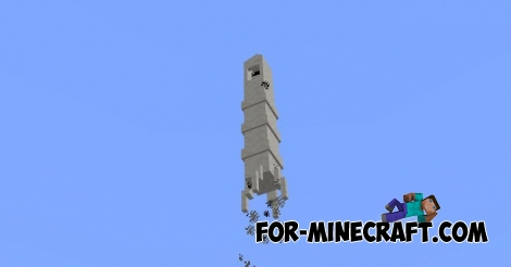Space Rocket addon for Minecraft PE 1.0.0/1.0.4