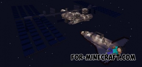 Spacecraft map (MCPE 1.0.0/1.0.4)