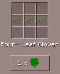 Magic Clover mod for MCPE 1.0.5