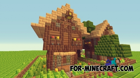 Tiny Pixels Textures for MCPE 1.0.0/1.0.4