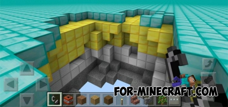 Custom Flat World mod (MCPE 1.0.X)