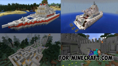 Simple maps - All parts for Minecraft PE 1.0.5