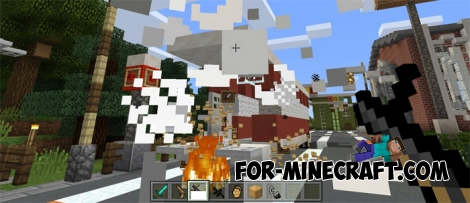 WarStuffs Addon for Minecraft PE 1.0.5